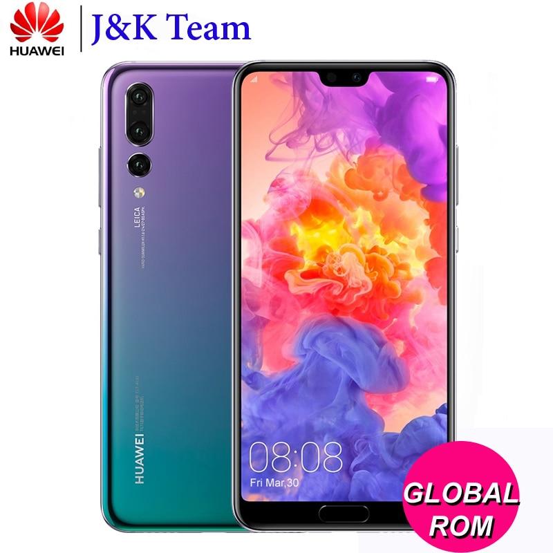 Huawei P20 Pro 6 ГБ 64 ГБ смартфон полный LTE группа 40MP тройной сзади Камера 6,1 дюймов полный вид Экран перегружать NFC Android 8,1