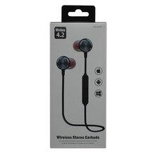 블루투스 이어폰 무선 스테레오 이어 버드 아이폰 휴대 전화 MP3 MP4 용 무선 V4.2 음악 헤드폰