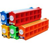 Toy plastic shoe hanger baby kids rack plastic shoes cabinet kindergarten children cabinet toy 12 cubby holes