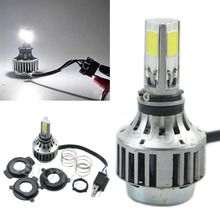 32W 3000LM COB LED Hi/Lo Beam H4 Motorcycle Headlight Front Light Bulb Lamp NEW