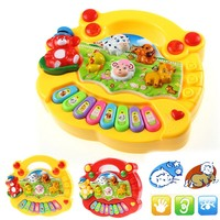 2017 New Baby Kids Musical Educational Animal Farm Piano Developmental Music Toy Gift