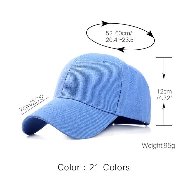 Plain Baseball Cap  5
