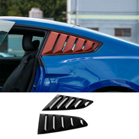 MOPAI ABS Car Exterior Side Rear Window Fender Air Vent Intake Decoration Trim Stickers For Ford Mustang 2015 Up Car Styling