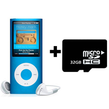 Brand New Real 32GB TF SD Card for MP4 Player with Build-in Speaker Play Time 30Hours FM Radio Ebook Video Music Players