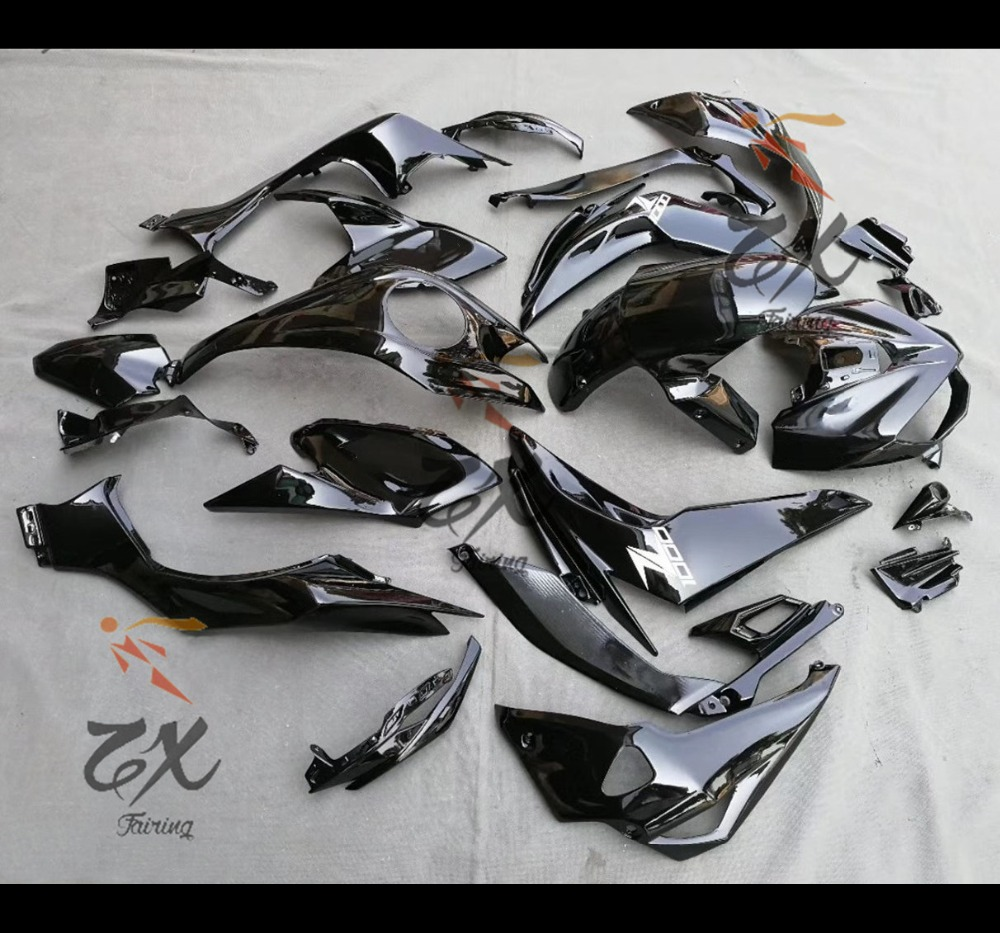 Fairing Kit For KWASWAKI Z1000 2014 2015 2016 ABS  Fairings Compression No Injection Black