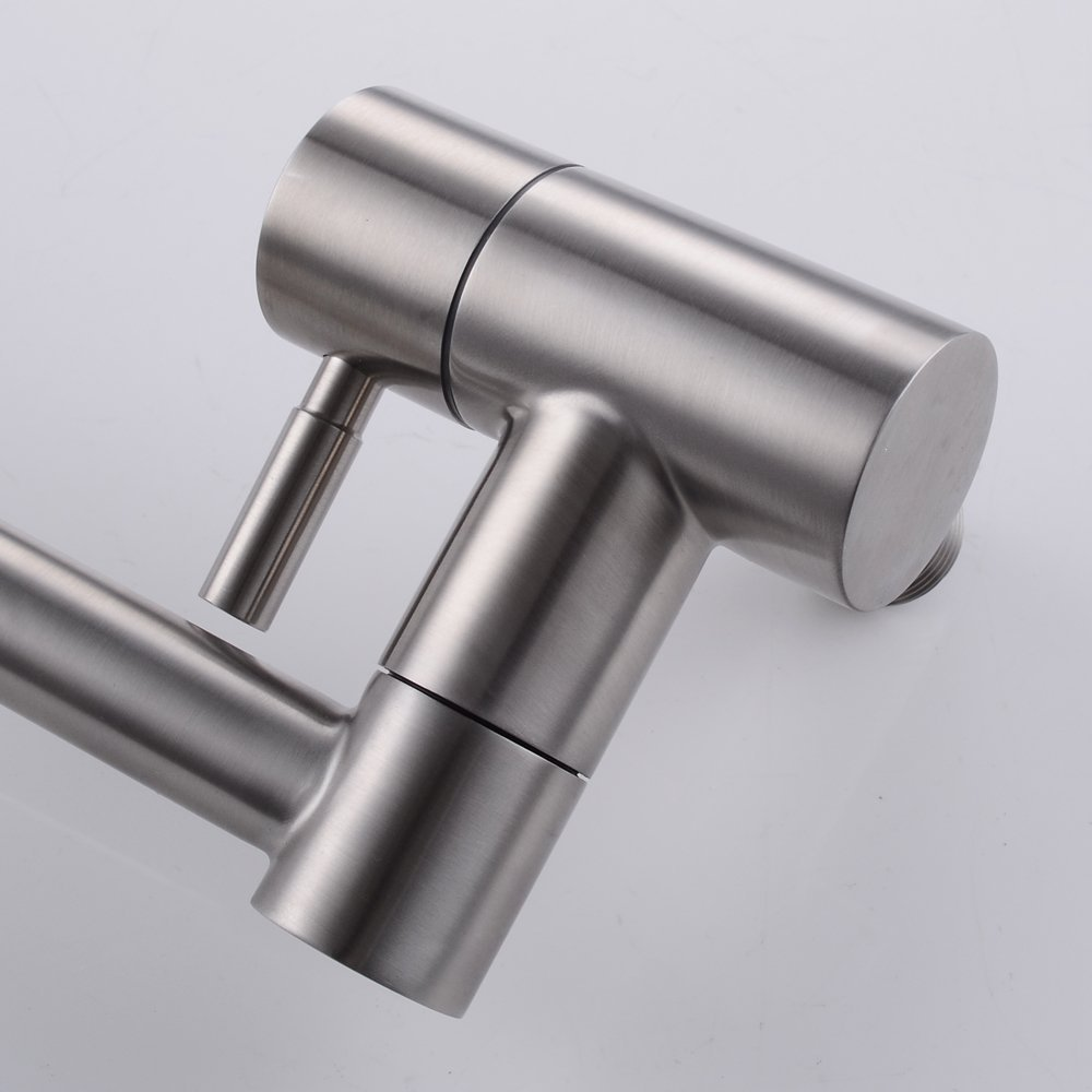 steel double stainless and filler joint articulating faucet lead sus free kitchen kes index pot