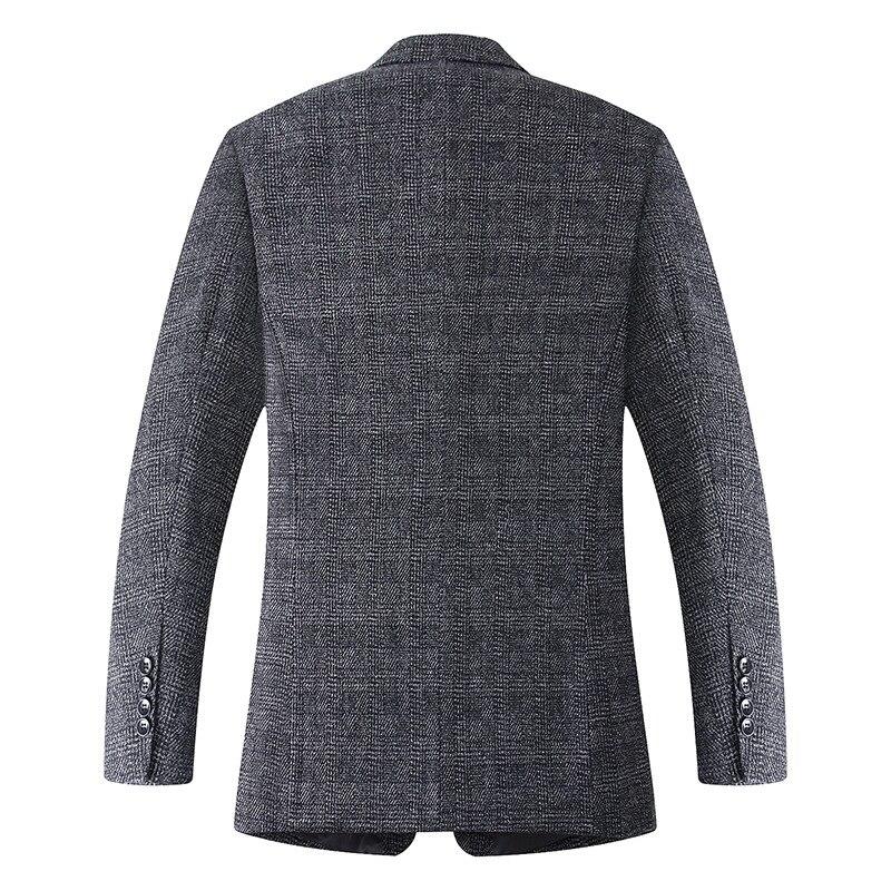 New arrival moda bardzo duża mężczyźni garnitur kurtka luźny z wełny chusta na co dzień pojedyncze łuszcz mężczyzna Blazers plus rozmiar XL 4XL5XL6XL7XL w Marynarki od Odzież męska na  Grupa 2