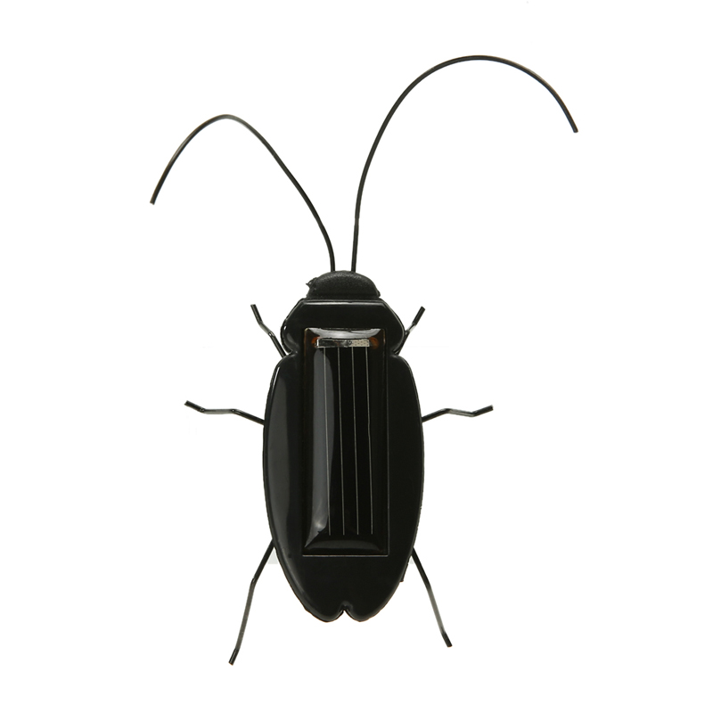 Solar Power Cockroach Insect Bug Teaching Toy Educational Gift Baby Kids Plastic Insect Solar Toy