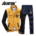 Jolintsai Hoodie Fleece 2017 Men's Sportwear Plus Size 4XL Patchwork Sweatshirt Tracksuit Men Sudaderas Hombre Sweat Homme