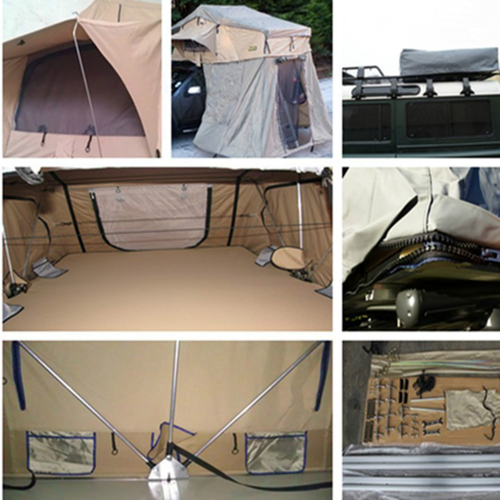 4WD roof top tent for 3 to 4 person waterproof roof up tent for car-in Tents from Sports u0026 Entertainment on Aliexpress.com | Alibaba Group & 4WD roof top tent for 3 to 4 person waterproof roof up tent for ...