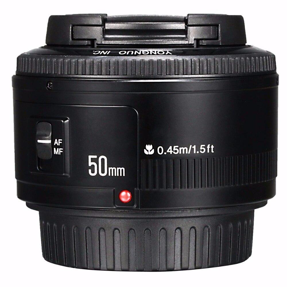 Objectif YONGNUO YN35mm F2.0 F2N, objectif YN50mm pour Nikon F Mount D7100 D3200 D3300 D3100 D5100 D90 appareil photo reflex numérique, pour appareil photo reflex numérique Canon - 6