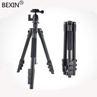 BEXIN Aluminum Travel Portable Flexible Desktop Professional tripod camera stand with ball head For Canon Didital SLR Camera