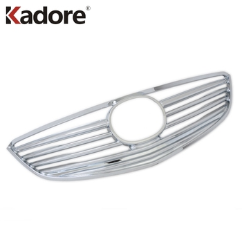 Voor Mazda 6 M6 Atenza 2013 2014 2015 ABS Chrome Voor Center Grille Grill Vergadering Racing Grills Protector Auto Covers trim