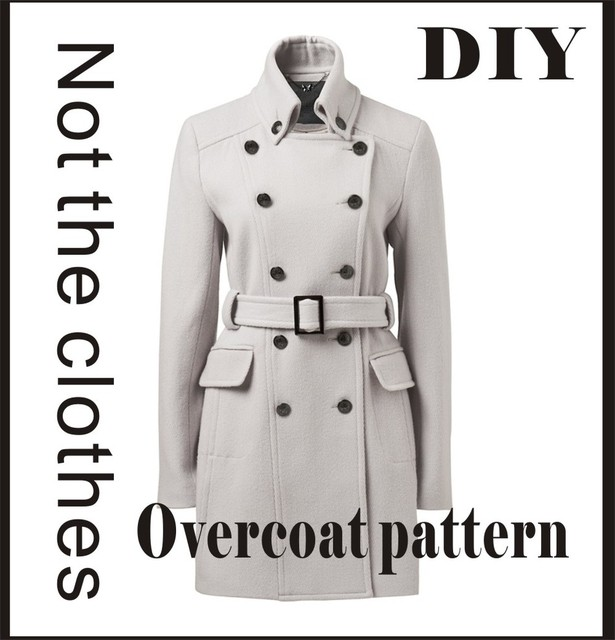 McCall Pattern Ropa de Abrigo BRICOLAJE Patrón de Costura Abrigo de ...