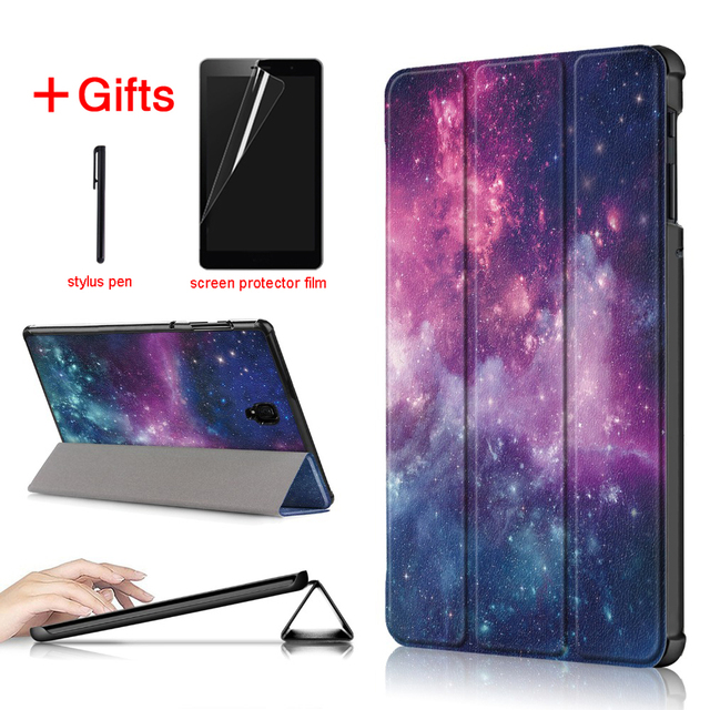 separation shoes 2fd8a 13f06 US $9.36 22% OFF|Slim Magnetic PU Leather Case For Samsung galaxy Tab S4  10.5 SM T830 T835 T837 Tablet cover funda For samsung galaxy Tab S4 case-in  ...