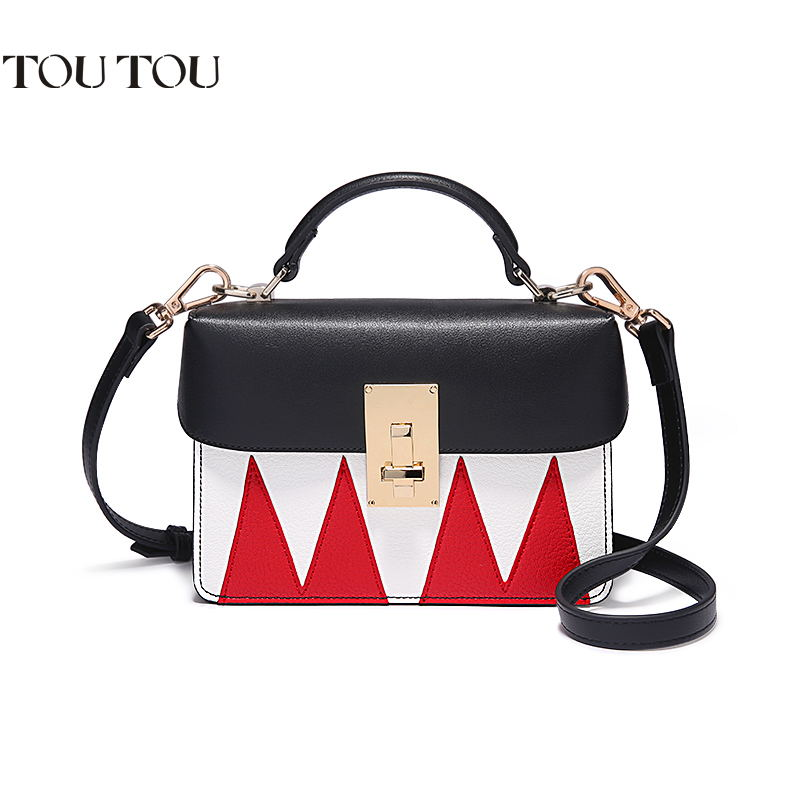 TOUTOU Handbags 2018 new box Personality Hit color Small package Portable Shoulder bag high quality Messenger Bag Free shipping mjjc brand foam lance for karcher 5 units package free shipping 2017 with high quality automobiles accessory