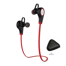 цена на Super Bass Sound Bluetooth Sport Earphone In Ear Eeaphone Earbuds V4.1 With Mic For All Phone Xiaomi Iphone htc Connect 2 Device