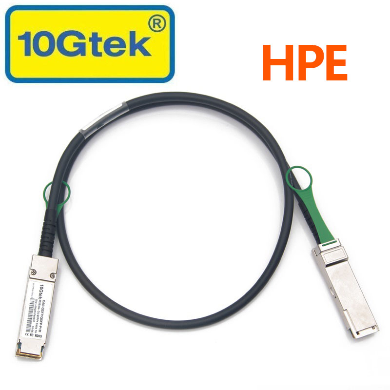 HPE JG326A 40Gb/s QSFP+ DAC QSFP+ 40G Passive Direct Attach Copper Cable 1M