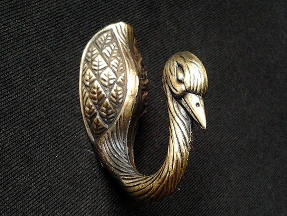Vogel Wandhaltereinzigartige Vintage Look Hakenmetall Antike