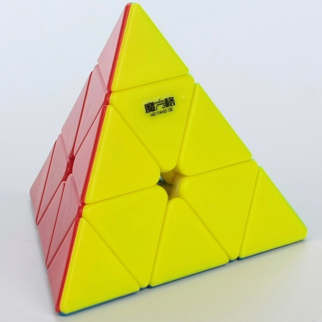 Qiyi torção velocidade Pyramid Magic Cube quebra-cabeça crianças de qi brinquedos educativos