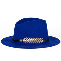 Sweet Girl New Arrive Autumn Winter Style Hat 12 Color Fish Bone Accessories Women Fedoras High