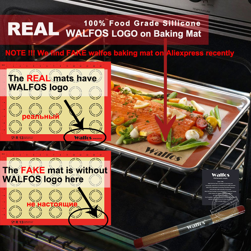 WALFOS Nieprzywierająca Mata Silikonowa Do Pieczenia Pad Blachy - Kuchnia, jadalnia i bar - Zdjęcie 6
