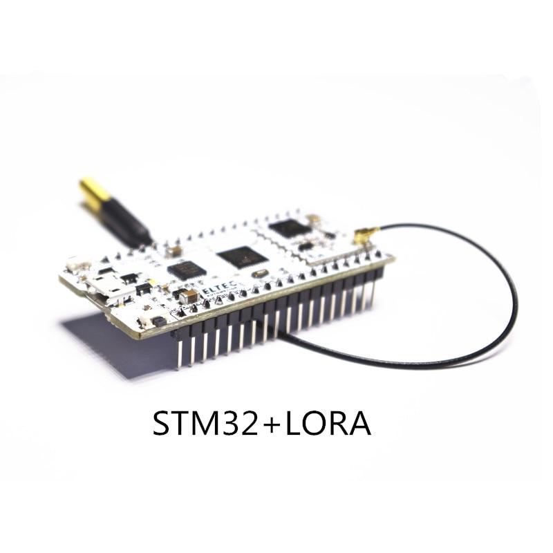 STMS32+LORA Board/STM32L151CBU6 Development Board with Lora/ LoRaWAN Low-Power IoT Node CP2102 USB to Serial Port smart lora button hardware lorawan program remote wireless trigger wifi module with nodered tutorial for iot developer q168