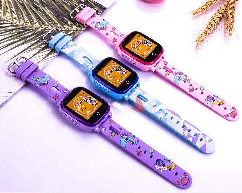 4G Camera GPS Watches WI-FI Kids Children Students Smart Wristwatch Sim Card/SOS/Video Call/ Monitor Tracker Location Waterproof 15