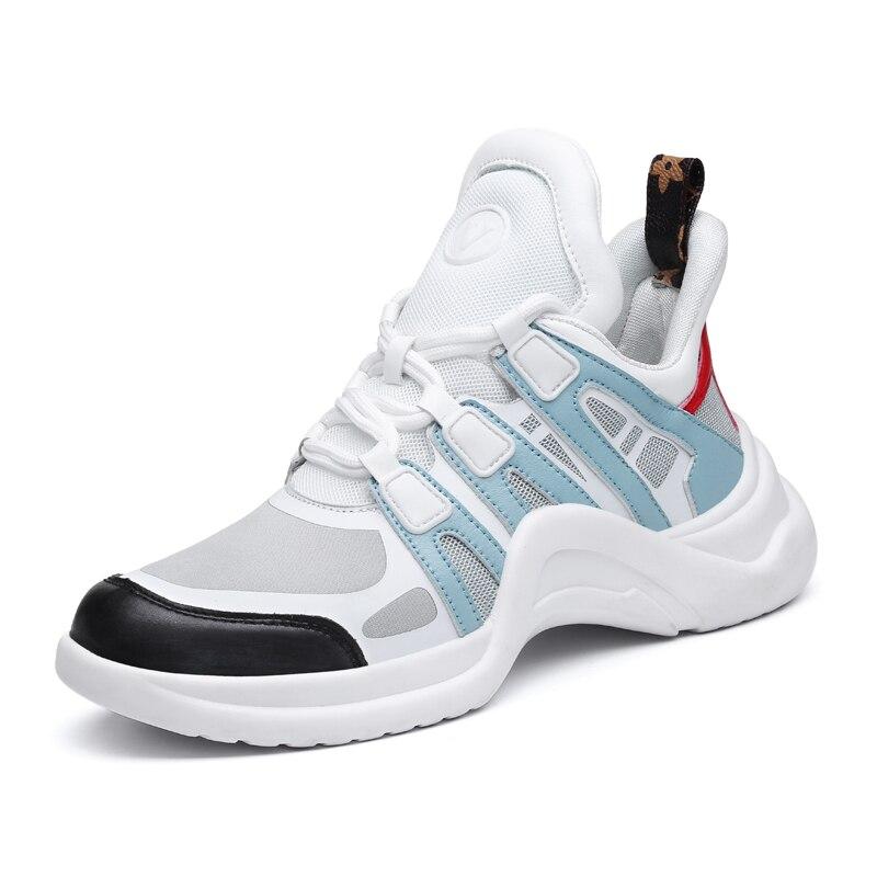 2019 Designer Sneakers Women Breathable Light Running Shoes Outdoor Sport Shoes Woman Platform Footwear Walking Vulcanized Shoes