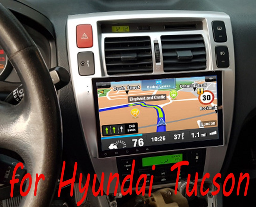 10 2 car radio stereo for hyundai tucson 2006 2014. Black Bedroom Furniture Sets. Home Design Ideas