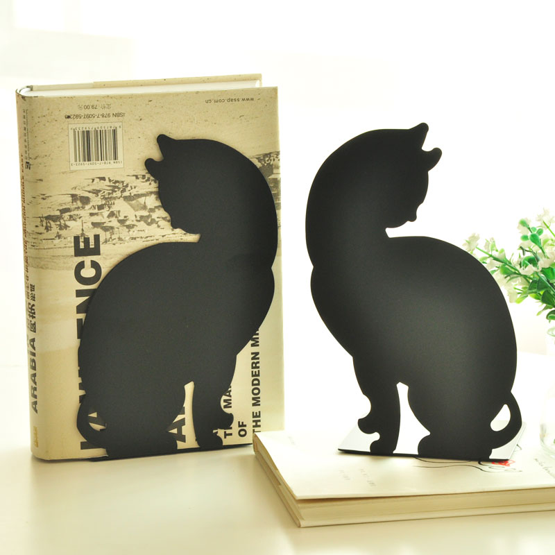 Creative student stationery bookshelf book file table iron clamp animal bookends cartoon metal bookend school supplies gift new korea stationery retro creative extension type bookshelf vintage metal bookend 550