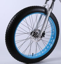 26 Inches Fat Bike Wheel with Inner & Outer Tires, without Front Fork(China)