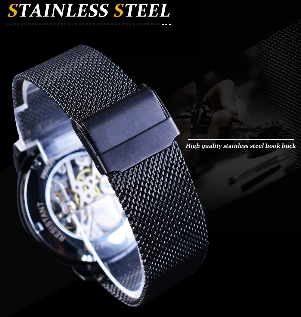 HTB1 eEmiHSYBuNjSspfq6AZCpXaX Forsining Retro Fashion Design Skeleton Sport Mechanical Watch Luminous Hands Transparent Mesh Bracelet For Men Top Brand Luxury