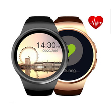 original KW18 VS KW28 Bluetooth Smart Watch Phone with  Sim/TF Card Heart Rate monitor Reloj Smartwatch Wearable device