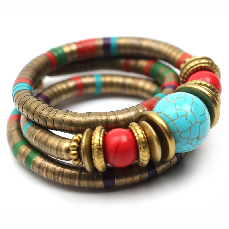 Ztech Fashions Vintage decoration For Women Girls Tibetan Bracelets /& Bangles…