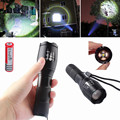 QUENTE T6 7-Mode Zoomable Lanterna LED Lampe Torche LEVOU Flash de Luz Da Tocha Poderosa Lâmpada Linterna LEVOU Lanterna Tatica A100