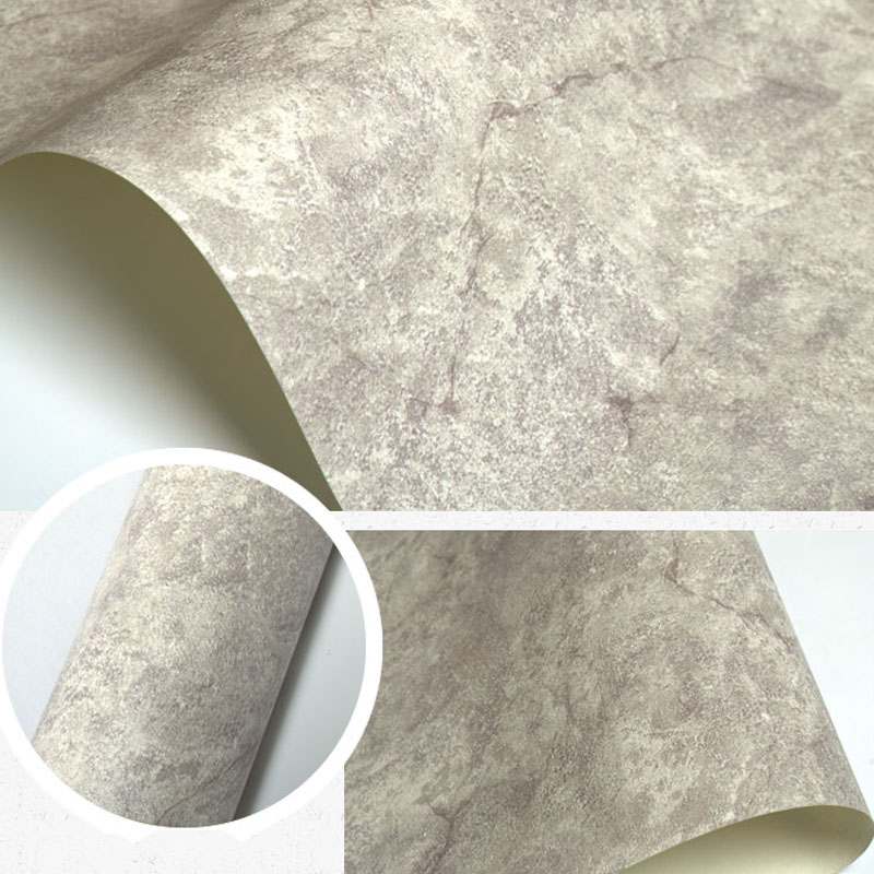 Vintage Personalized Imitation Marble Wall Paper Chinese Style Solid Color Decorative Wallpapers Roll for TV Background Walls
