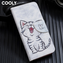 COOLY Leather Wallet Flip Case For Samsung Galaxy A30 A40 A10 A20 A70
