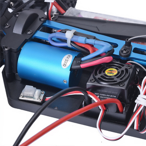 Image 5 - Hsp rcカー 1:10 4wdおもちゃオフロードバギー 94107PRO電力ブラシレスモーターリポバッテリー高速趣味リモート制御車