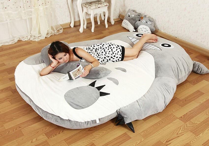200cm x 170cm / 6.5ft x 5.5ft Giant Totoro posteljica Lepa vzmetnica - Pohištvo - Fotografija 3