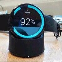 100% Oryginalny Zegarek Qi Bezprzewodowy Pad dla Moto360 Charginh eAmpang bezprzewodowa Ładowarka Cradle dla Moto 360 i 2ND Gen Smart zegarek