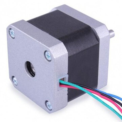 WSFS Hot 42BYGHW609 Stepper Motor 1 7A Laser Grind Foam Plasma Cut Silver black