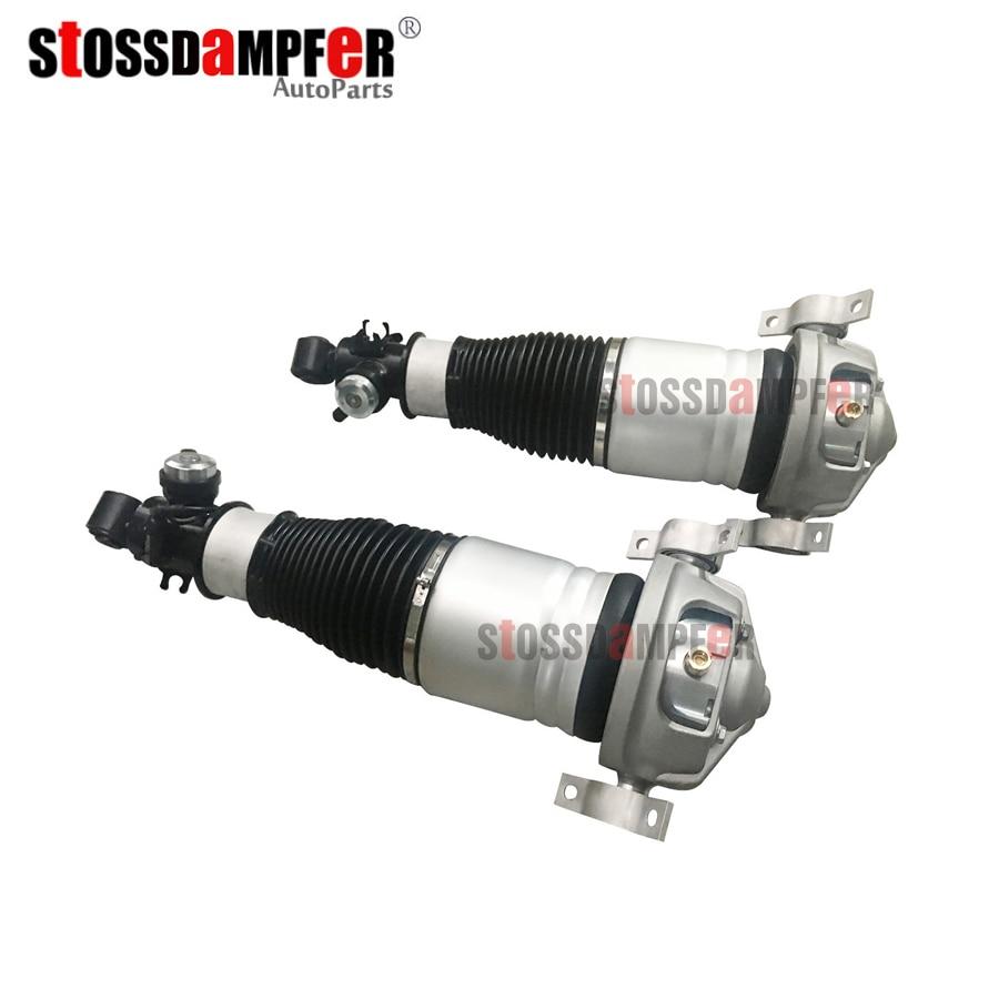StOSSDaMPFeR nuevo 1 * par aire puntal de suspensión trasera de aire de primavera amortiguador apto Audi Q7 VWTouareg Cayenne 955 7L5616019D (20D)