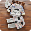 New Winter Baby Clothing Set Baby Girls Clothes Long Sleeve Thick Tops+Pants 2pcs Suit Cotton Baby Girl Newborn Clothing Set