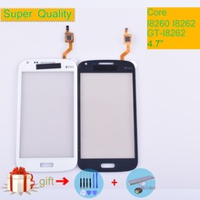 For Samsung Galaxy Core GT i8260 i8262 i8268 8260 8262 Touch Screen Panel Sensor Digitizer Front Glass Lens Touchscreen No LCD