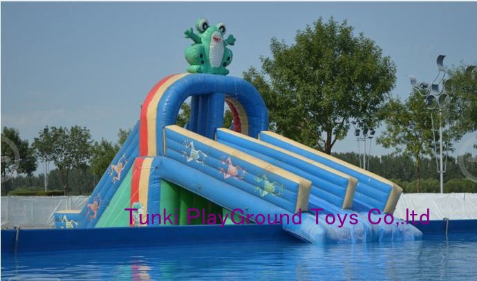 inflatable palm tree park inflatable water park fantasy ocean park