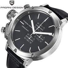 Pagani Diseño Relojes Hombres Marca de Lujo de Cuarzo Multifunción Reloj de Los Hombres Del Deporte Del Reloj de Buceo 30 m Reloj Militar Relogio masculino