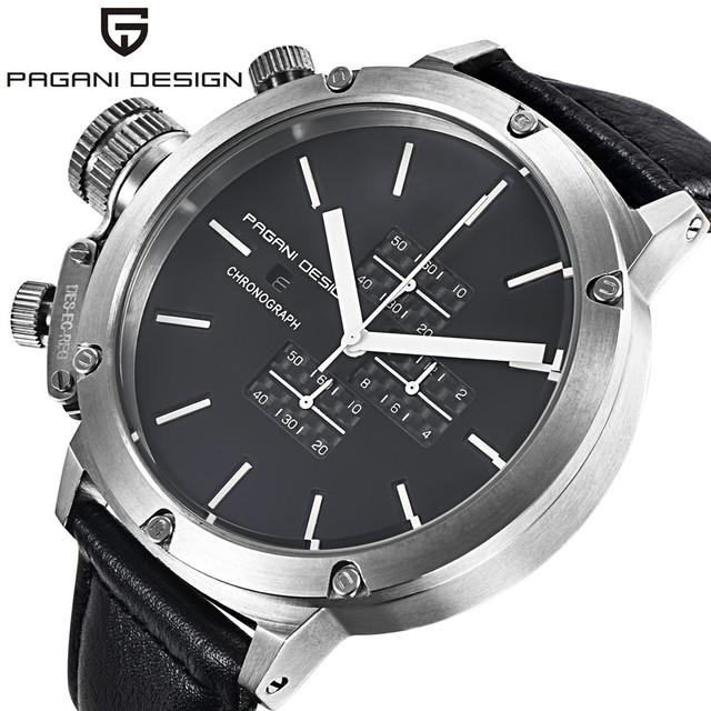 Pagani Projeto Relógios Homens Multifunções Relógio de Quartzo Homens de Luxo Da Marca relógio de Pulso Sport Dive 30 m Relógio Militar Relogio masculino