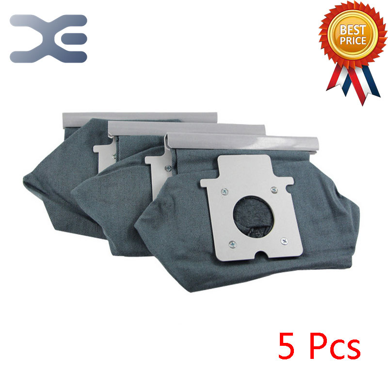 5Pcs High Quality Adaptation For Panasonic Vacuum Cleaner Accessories Garbage Filter Bag C-20E / MC-E7101 / 461 / CG381