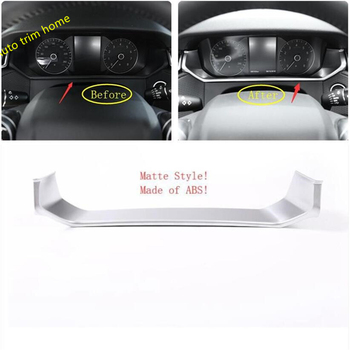 Lapetus Car Dashboard Instrument Screen Decoration Cover Trim ABS Fit For Land Rover Range Rover Velar 2018 2019 2020